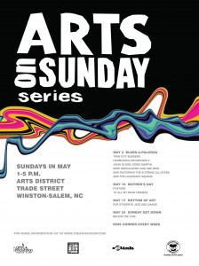 Arts On Sunday Festival Lineup for May 2015