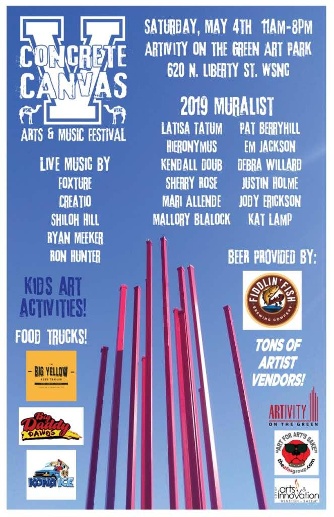 Concrete Canvas V Arts and Music Festival